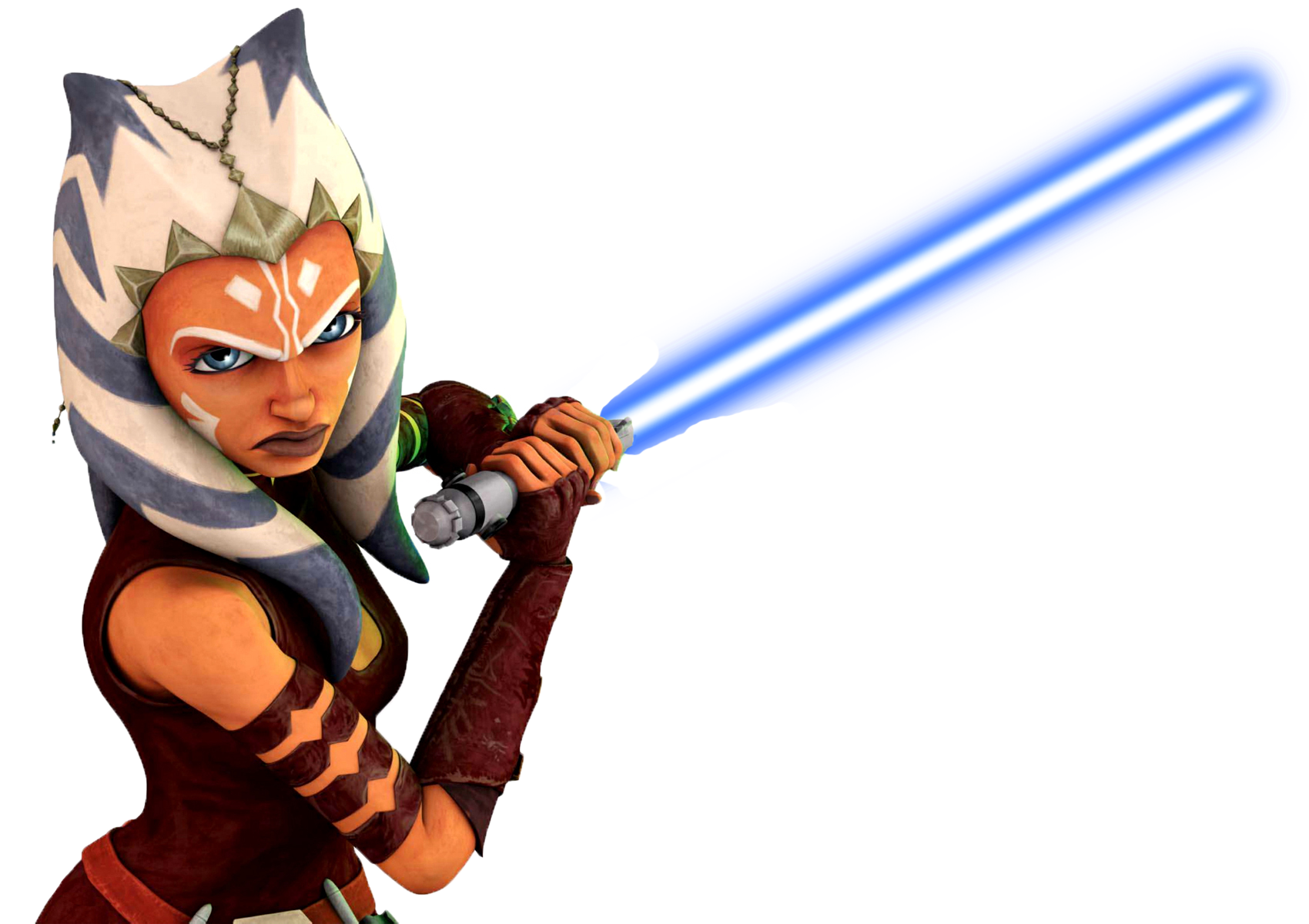 Star wars clipart lightsaber vector library stock Ahsoka Blue Lightsaber by SuperHeroTimeFan on DeviantArt vector library stock