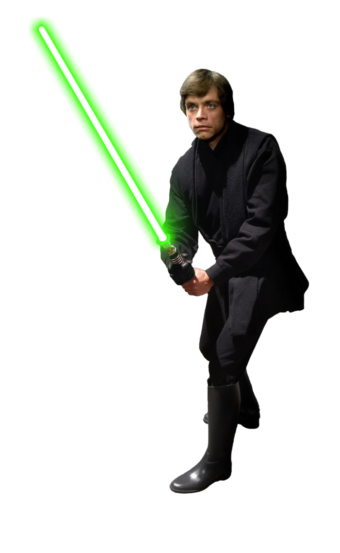 Star wars clipart lightsabers banner library Image - Luke Skywalker (Jedi Knight) (Glove.png | Star Wars Canon ... banner library