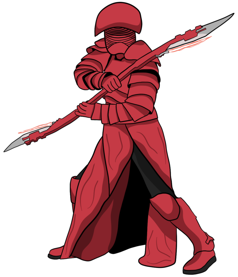 Star wars last jedi clipart svg library library Praetorian Guard - Star Wars: The Last Jedi by lospolltioz on DeviantArt svg library library