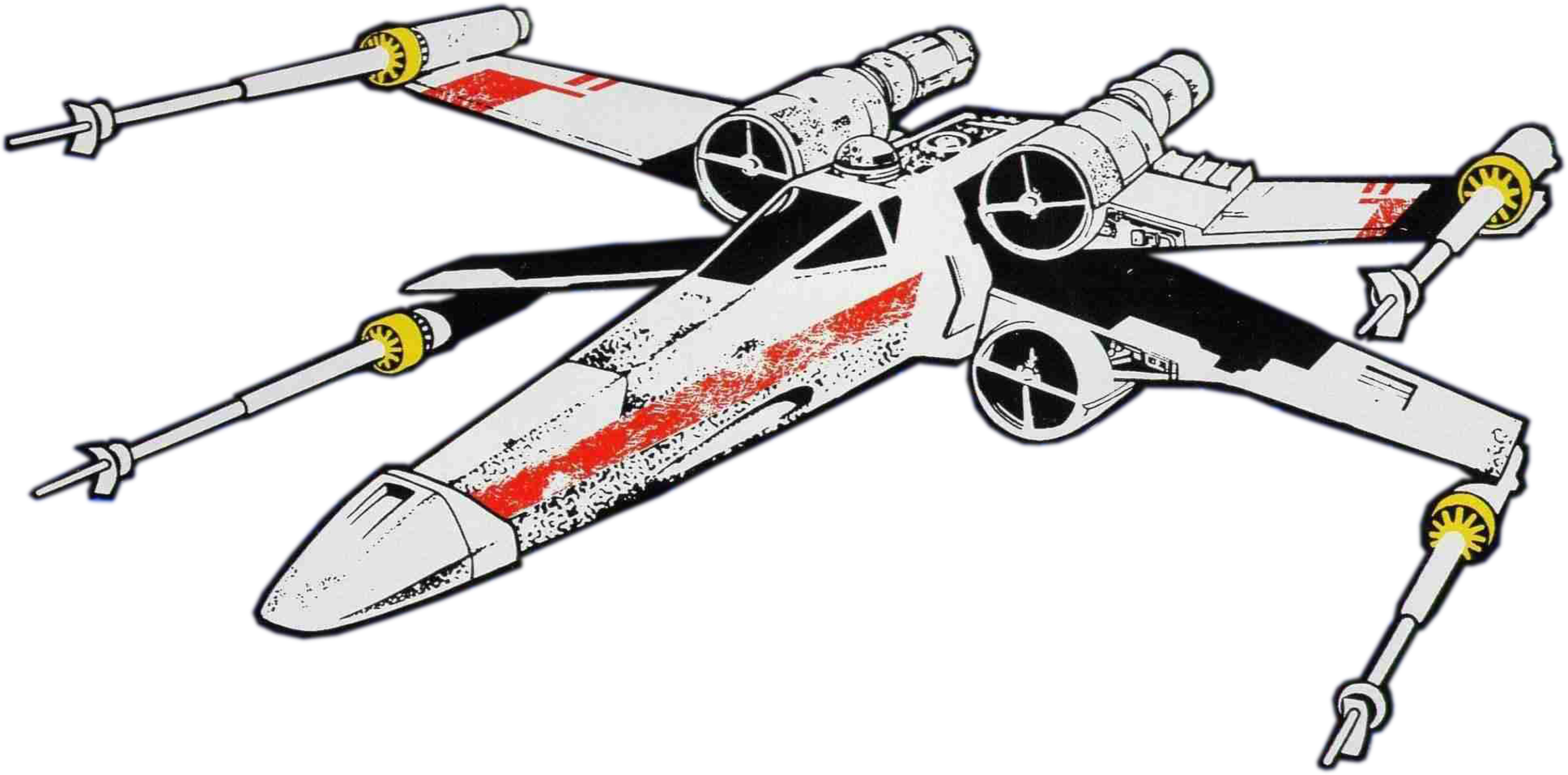 Star wars x wing clipart clipart transparent library Star Wars Mini: Artwork clipart transparent library