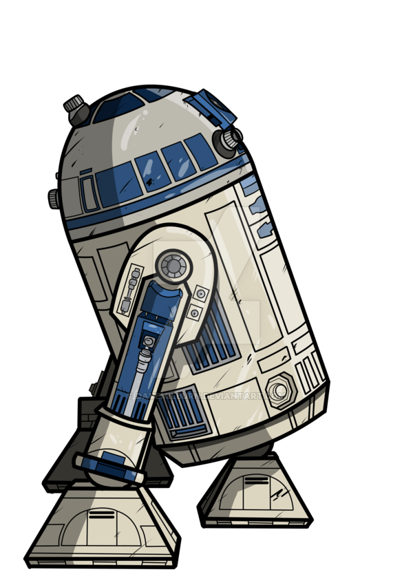 Star wars clipart r2d2 banner royalty free download R2D2 by DaveMilburn on DeviantArt banner royalty free download