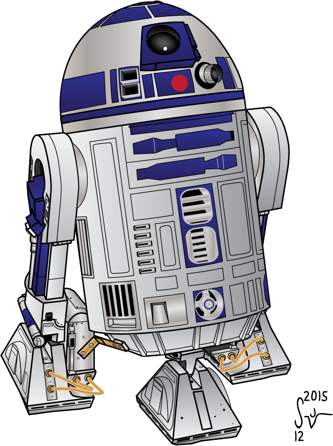 Star wars r2d2 clipart vector clip transparent download R2d2 Drawing at GetDrawings.com | Free for personal use R2d2 Drawing ... clip transparent download