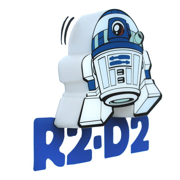 Star wars clipart r2d2 png free library Star Wars - R2-D2 - Mini 3D LED Night Light - ZiNG Pop Culture png free library