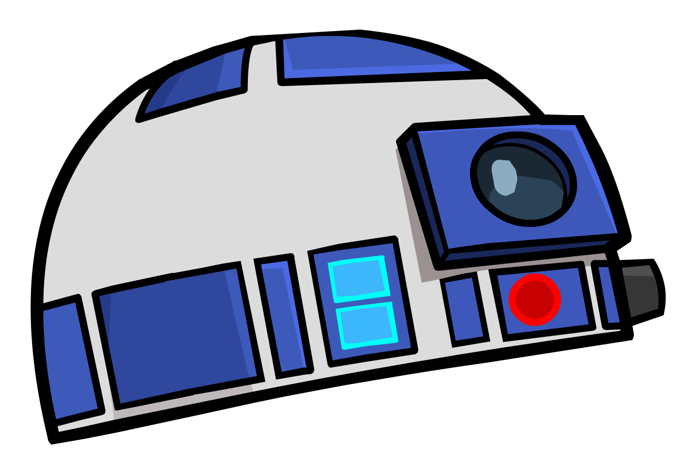 Star wars clipart r2d2 png free R2-D2 Pin | Club Penguin Wiki | FANDOM powered by Wikia png free