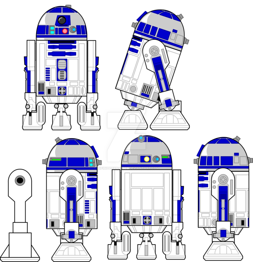 Star wars clipart r2d2 graphic R2-D2 model sheet by infinitedynamics on DeviantArt graphic