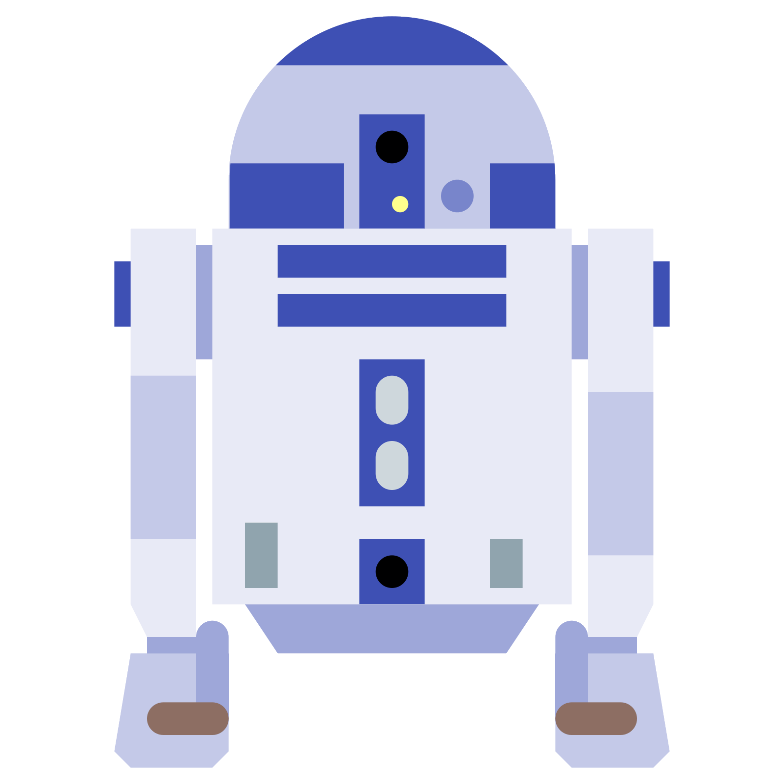 Star wars r2d2 clipart vector svg stock R2-D2 Icon - free download, PNG and vector svg stock