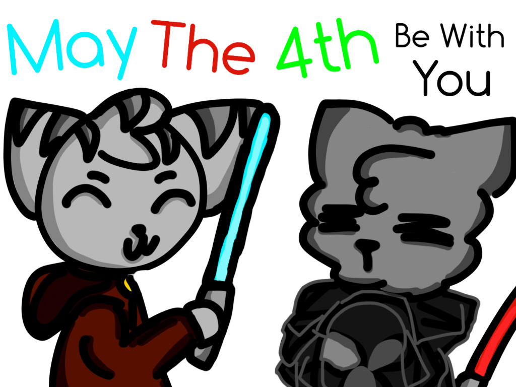 Star wars clipart revenge of the fifth clipart royalty free library It's Star Wars Day! 2017 by PusheenTheUltimate on DeviantArt clipart royalty free library