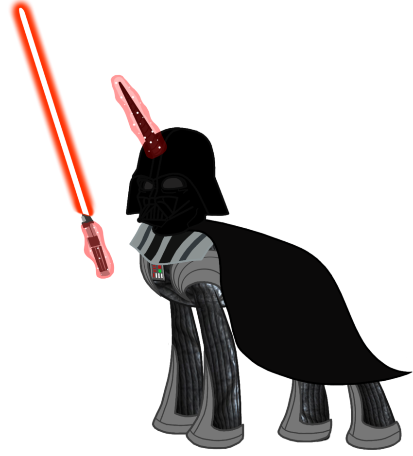 Star wars darth vader clipart png black and white library My Little Pony (Star Wars) Darth Vader by BlueThunder66 on DeviantArt png black and white library