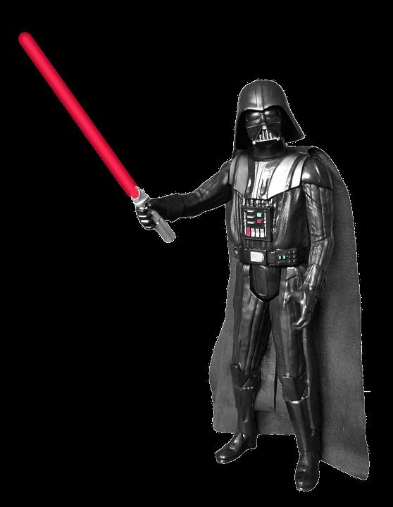Star wars darth vader clipart svg freeuse Darth Vader Figure Transparent PNG svg freeuse