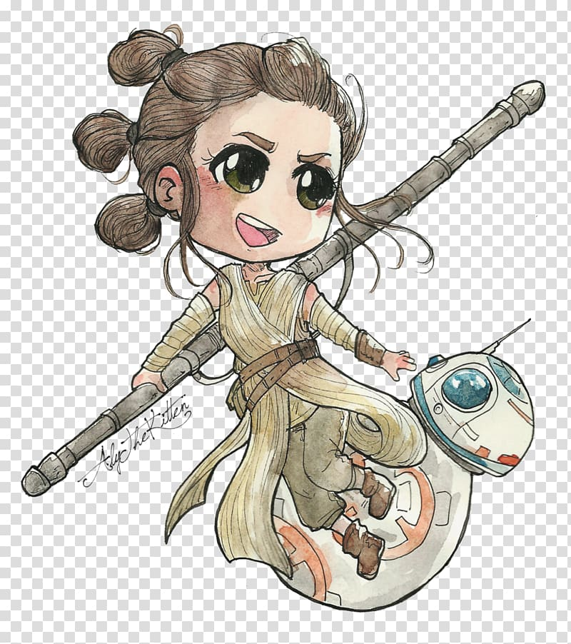 Star wars episode vii clipart graphic stock Rey Star Wars Episode VII BB-8 Han Solo Leia Organa, rey ... graphic stock