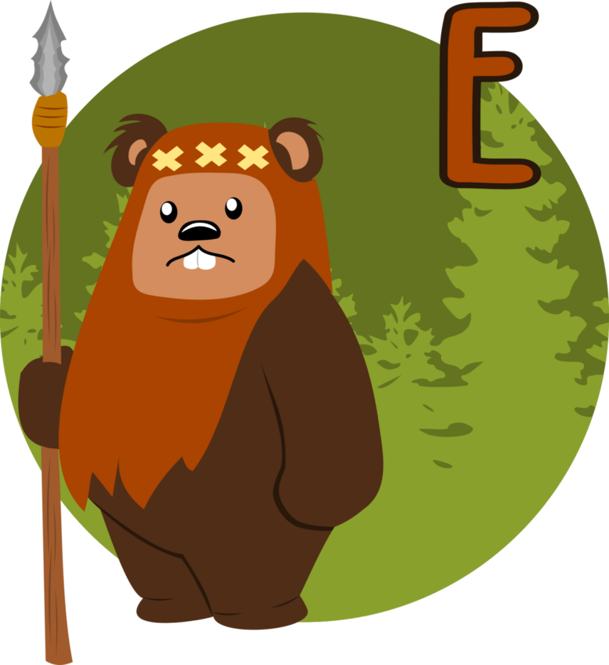 Star wars ewok clipart clip art library library E is for Ewok by MawsCM on DeviantArt clip art library library