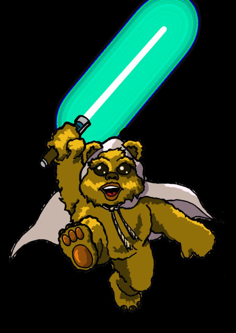 Star wars ewok clipart clip art freeuse download Ewok Jedi by J-Jim on DeviantArt clip art freeuse download
