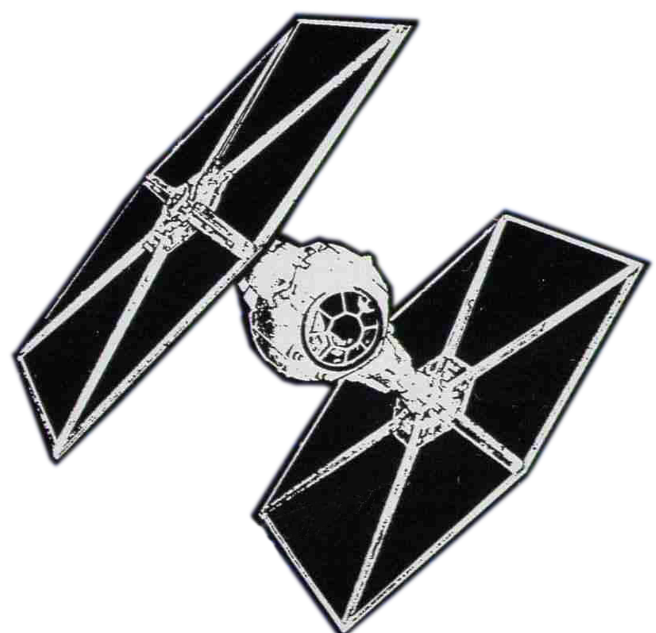 Star wars x wing clipart
