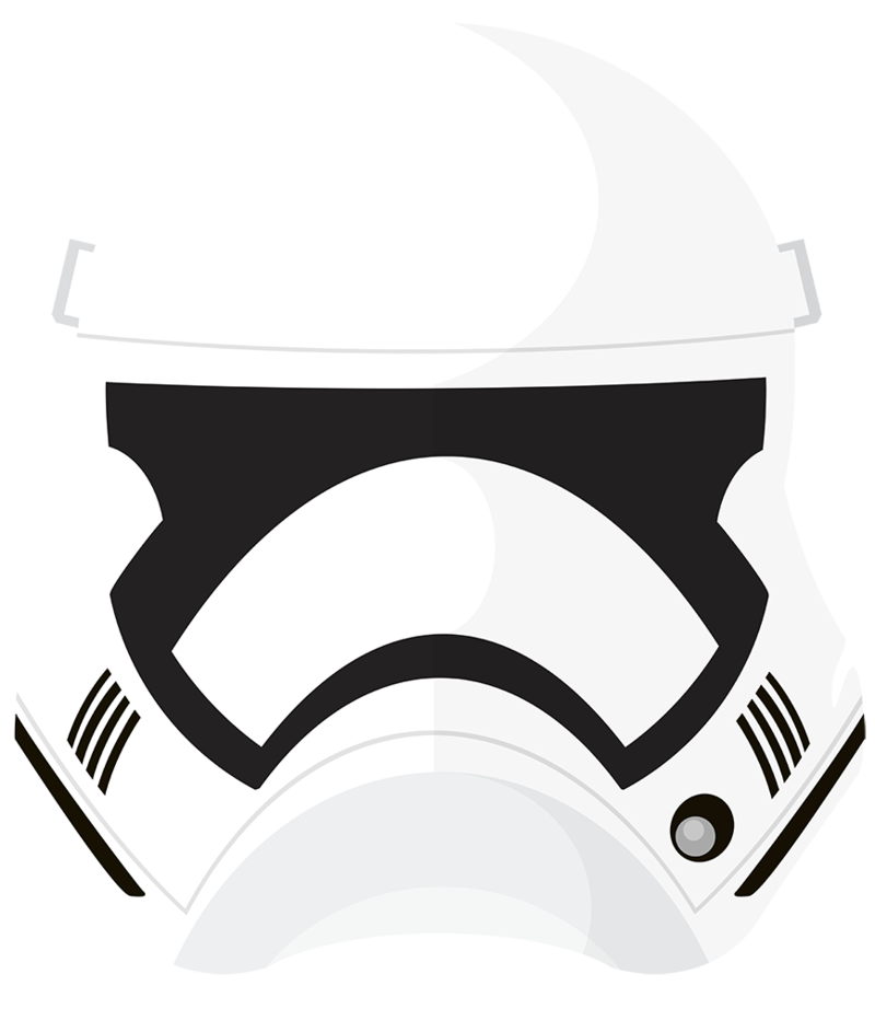 Star wars force awakens clipart picture freeuse library The Force Awakens Stormtrooper Helmet by PixelKitties on DeviantArt picture freeuse library