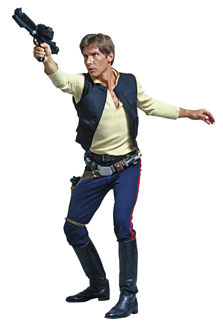Star wars hans solo clipart clip art transparent download Star Wars A New Hope Han Solo Fathead-01Star Wars by ENT2PRI9SE on ... clip art transparent download