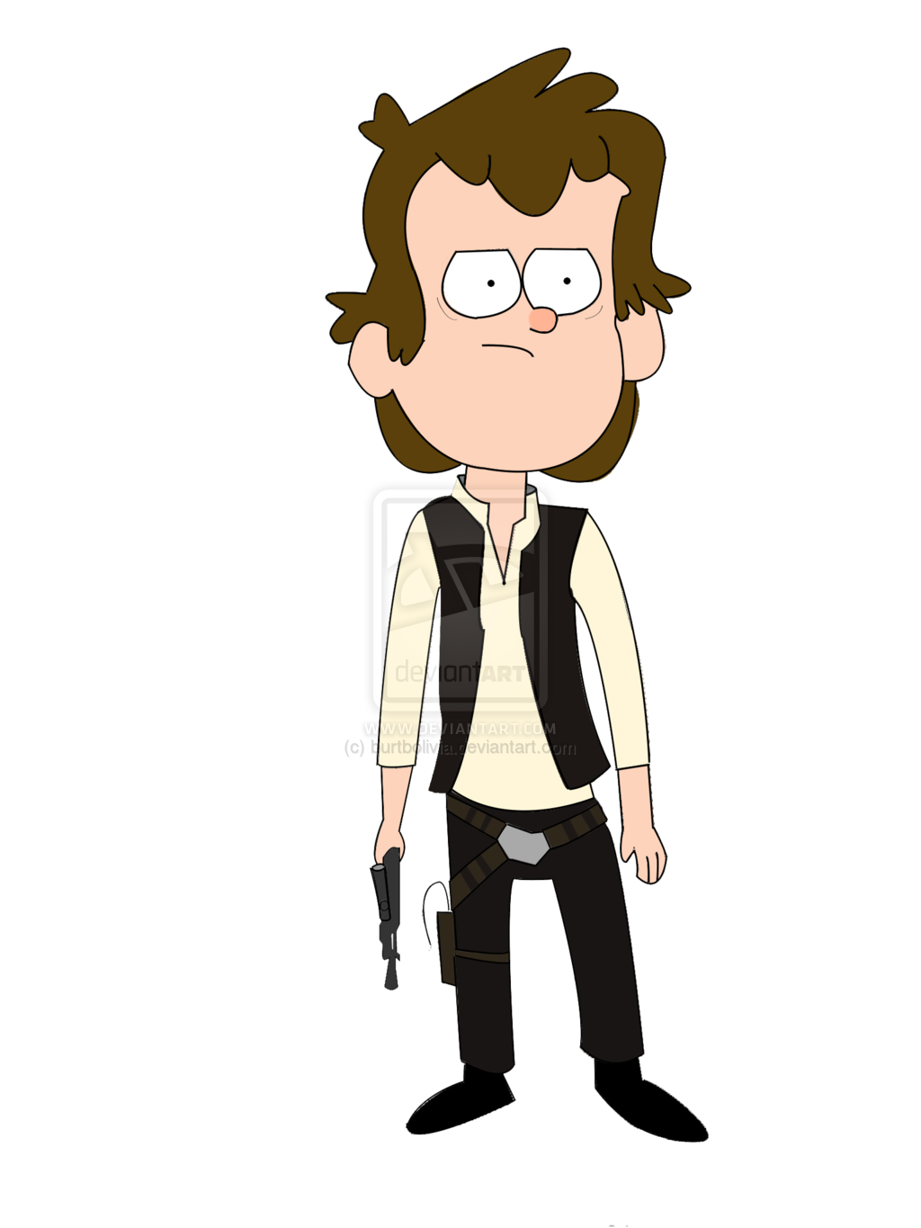 Star wars hans solo clipart graphic download Space Warrior Mascot graphic download