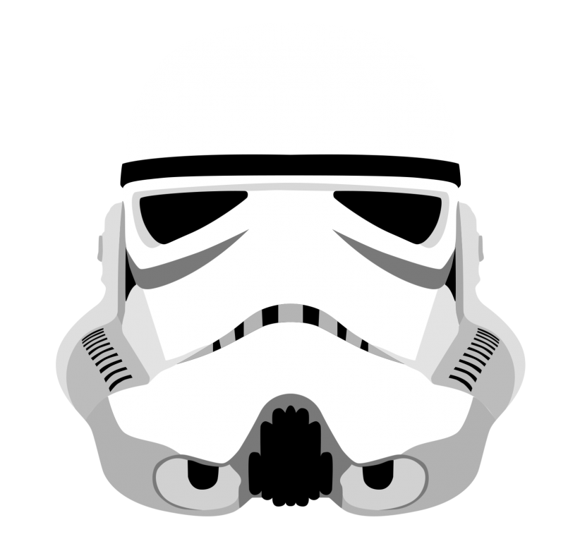 Star wars storm trooper clipart image freeuse stock Colors : Stormtrooper Helmet Fan Art In Conjunction With ... image freeuse stock