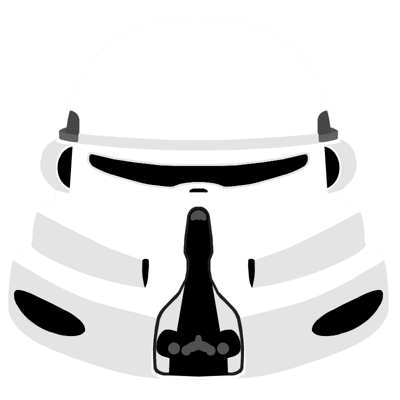 Star wars helmet clipart vector transparent download Clone Paratrooper Helmet by PD-Black-Dragon on DeviantArt vector transparent download