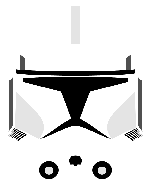 Star wars helmet clipart clipart transparent library Clone Trooper Helmet Variant 2 by PD-Black-Dragon on DeviantArt clipart transparent library