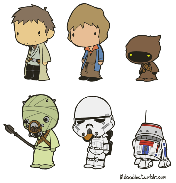 Star wars jawa clipart graphic free library Lil' Star Wars: Jundland Wastes booster pack! ... graphic free library