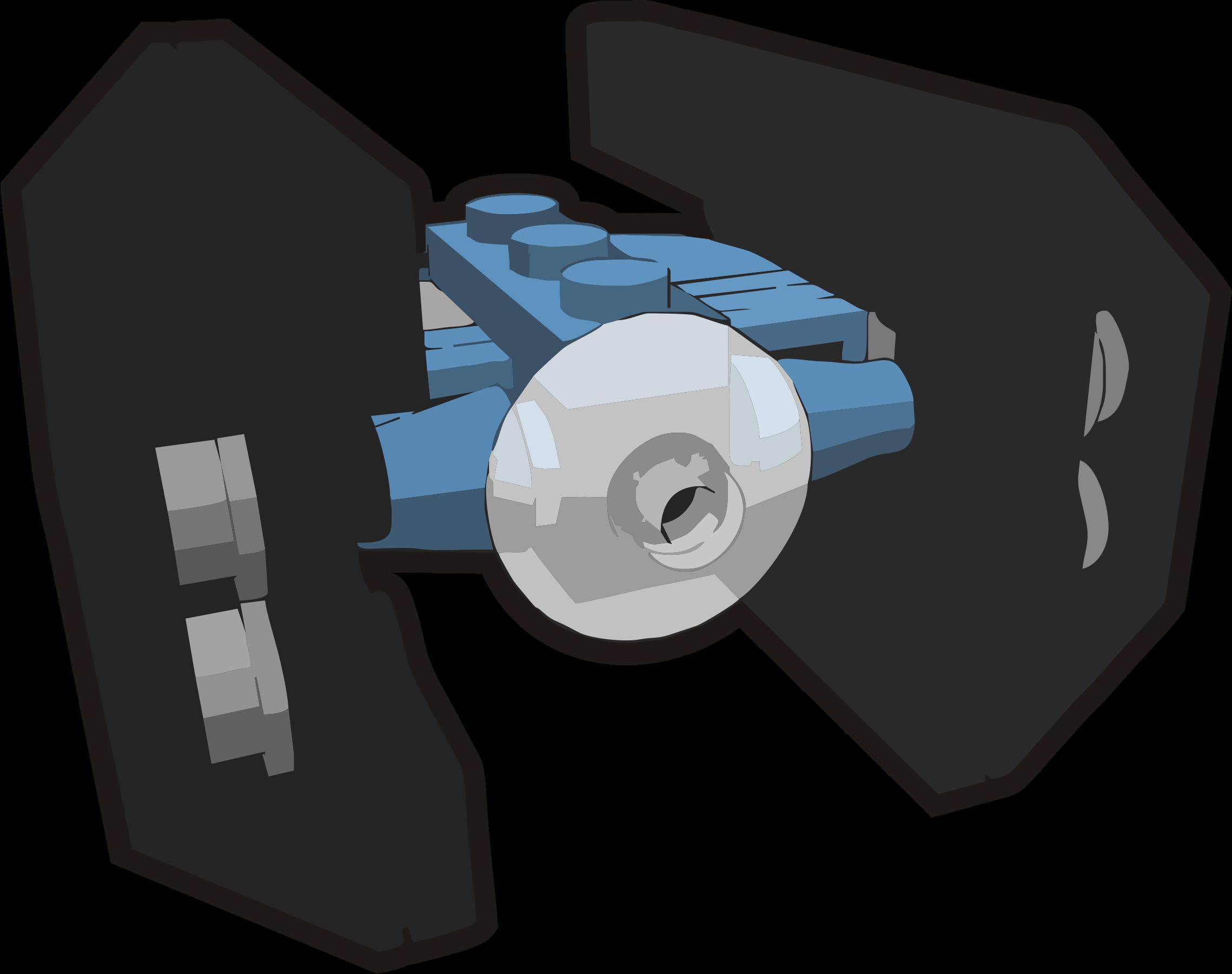 Star wars lego clipart picture transparent Clipart - Clip is a Brick - Star Wars mini Tie Fighter Advanced, set ... picture transparent