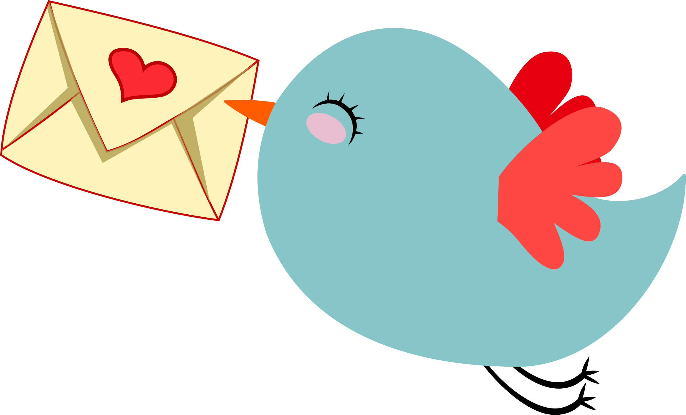 Star wars lifesavers clipart svg royalty free stock Cute Mail Carrier Bird by GDJ | นกน้อย | Pinterest | Bird, Clip art ... svg royalty free stock
