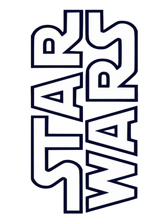 Star wars logo clipart svg black and white library Star wars logo PNG images svg black and white library