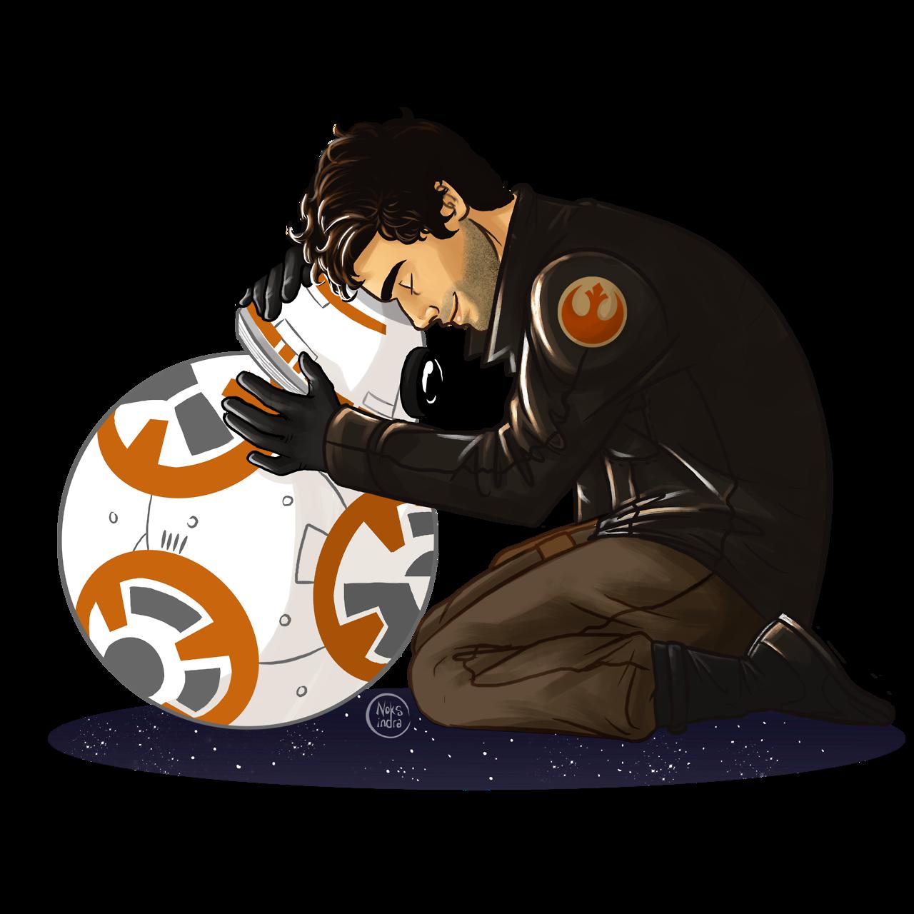 "Star wars millennium falcon clipart free Family pic - Poe Dameron & BB-8 "" I love them so much ;_; | Star ... free"