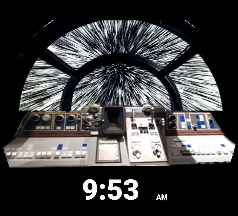 Star wars millennium falcon clipart clip art library Millennium Falcon Cockpit for Moto 360 - FaceRepo clip art library
