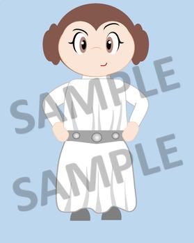 Star wars original trilogy clipart png transparent download Star Wars - Clip Art - Original Trilogy Characters png transparent download