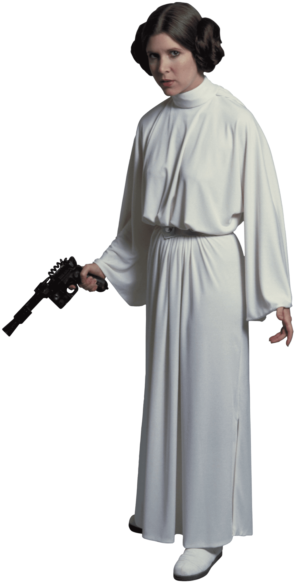 Star wars princess leia clipart image royalty free library Princess Leia Standing Transparent PNG image royalty free library