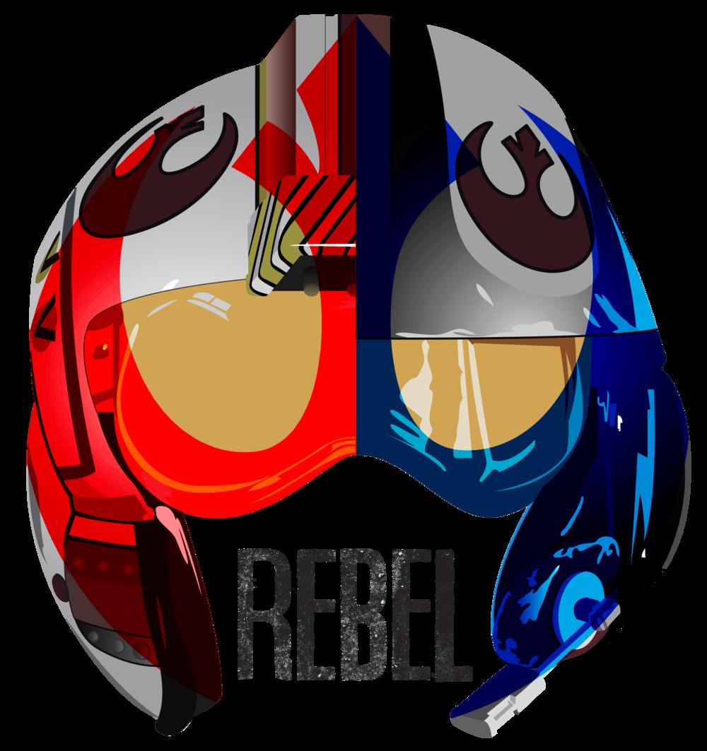 Star wars rebel helmet clipart clipart library library Old Rebel, New Resistance — JLANE DESIGN clipart library library