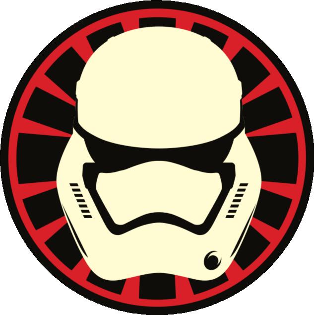 Star wars rebel helmet clipart jpg black and white stock Star Wars The Force Awakens First Order and Resistance Stickers ... jpg black and white stock