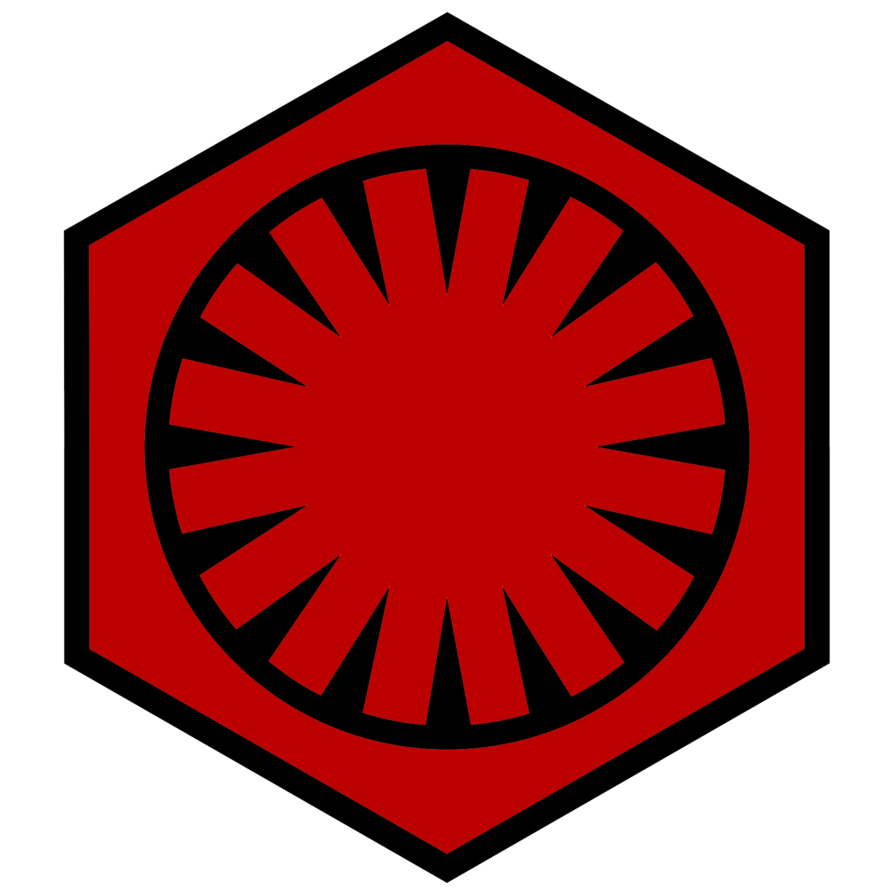 Star wars rebel symbol clipart graphic library download This is the emblem of the First Order, the antagonist faction in ... graphic library download