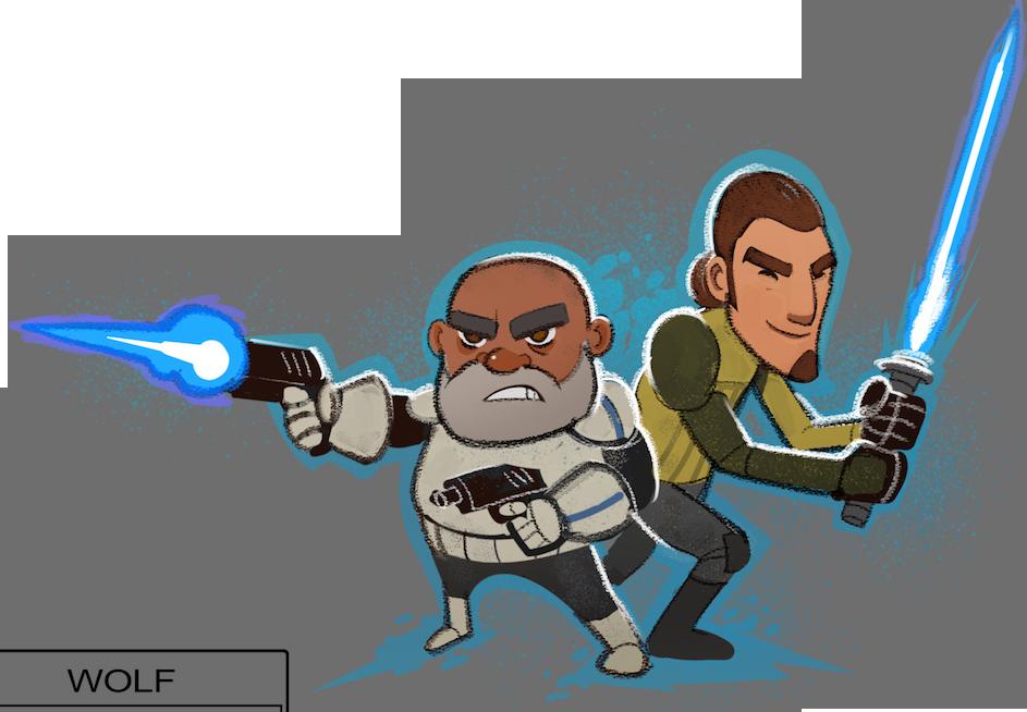 Star wars rebels clipart image freeuse download Captain Rex and Kanan Jarrus Duo | Star Wars Rebels | Know Your Meme image freeuse download