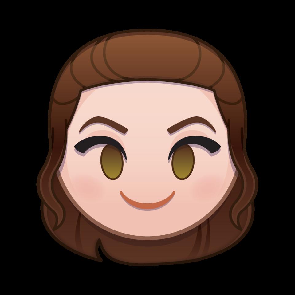Star wars rei hair clipart clipart stock Star Wars Comes to Disney Emoji Blitz! - Coffee With Kenobi clipart stock