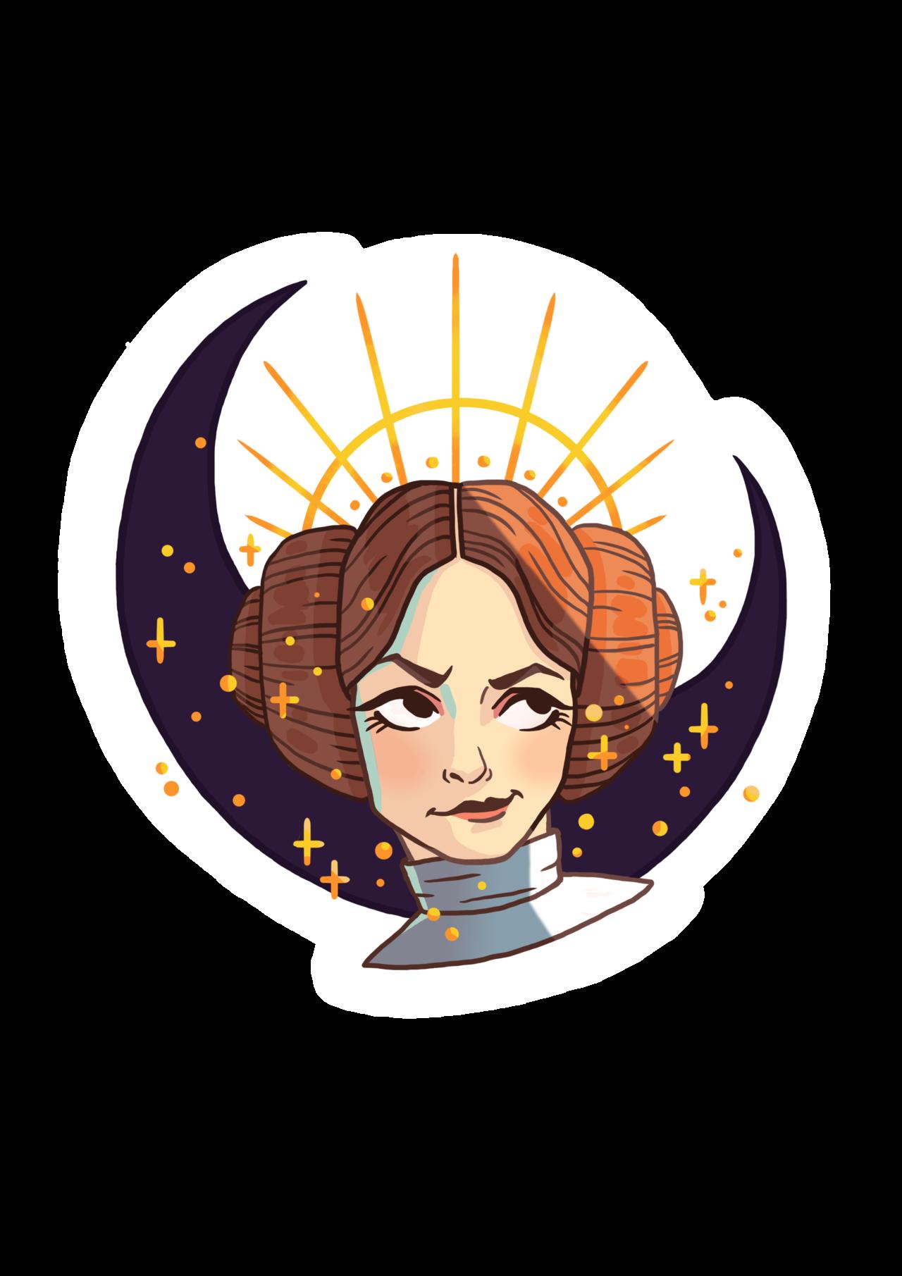 "Star wars rei hair clipart jpg freeuse floballestra: ""Star Wars designs from an upcoming sticker set ... jpg freeuse"