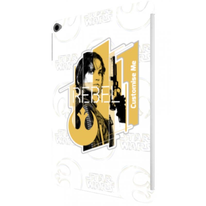 Star wars rogue one clipart picture freeuse download Star Wars Rogue One Jyn Erso iPad Air 2 Clip Case picture freeuse download