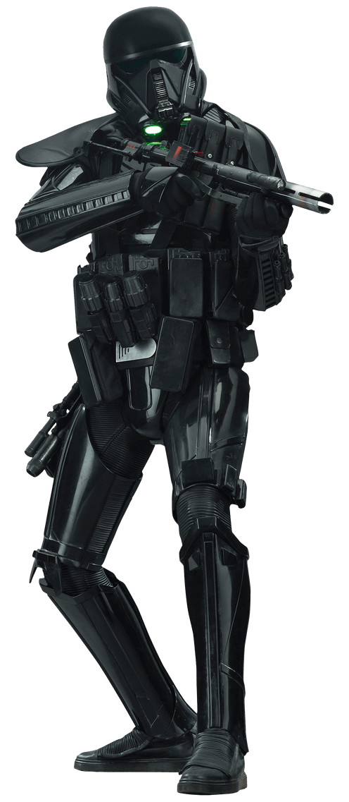 Star wars rogue one clipart graphic black and white Death Trooper Rogue One Transparent PNG graphic black and white