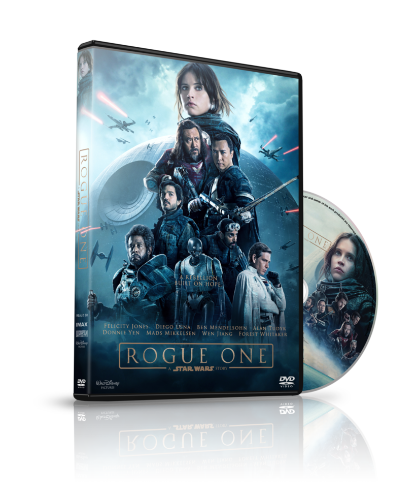Star wars rogue one clipart image free library Rogue One a Star Wars Story DVD Cover by szwejzi on DeviantArt image free library