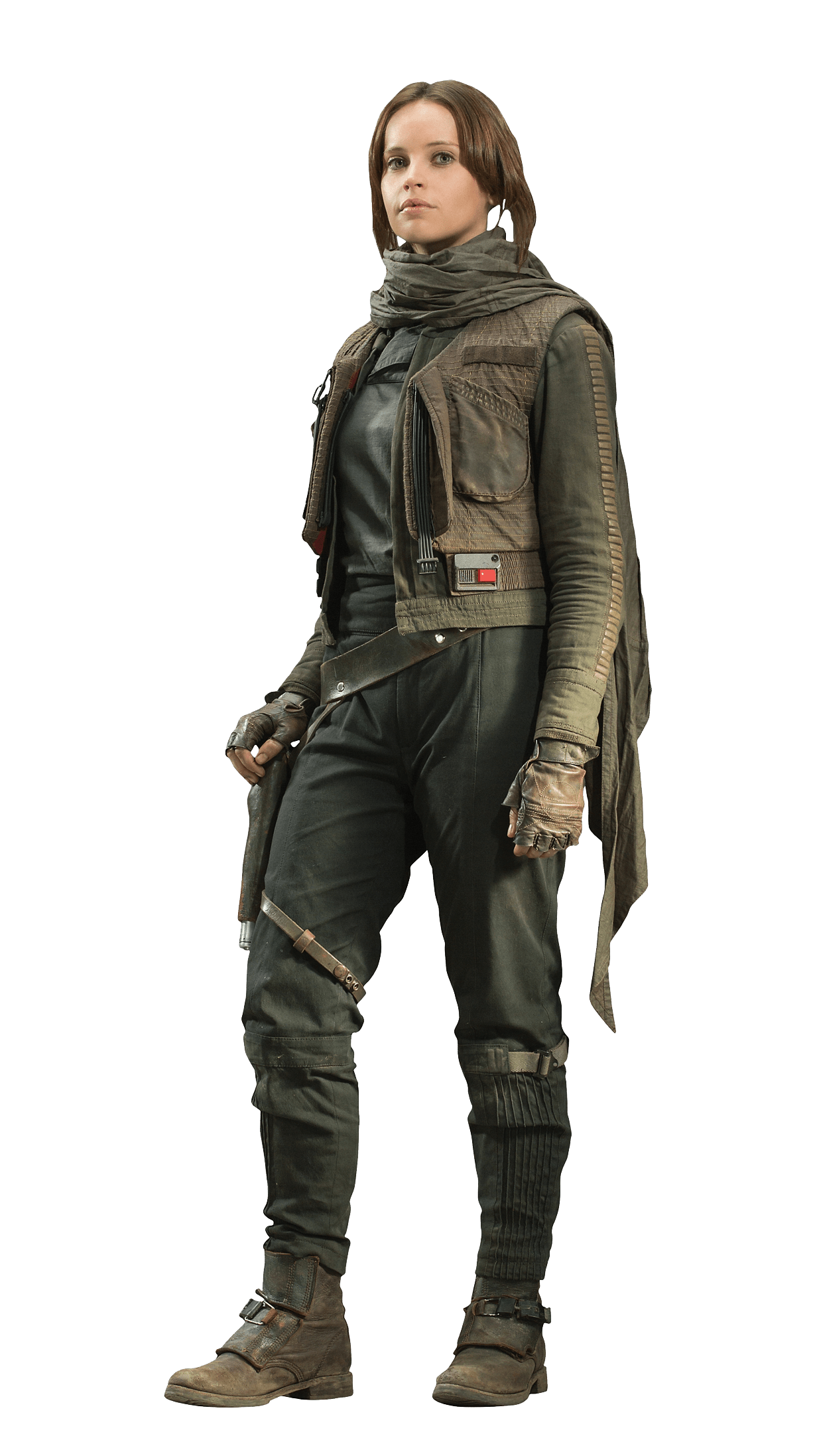Star wars rogue one clipart image royalty free download Rogue One Felicity Jones Jyn Erso transparent PNG - StickPNG image royalty free download