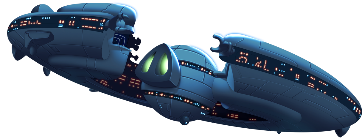 Star wars spaceships clipart banner black and white download Image - 3Footer spaceship.png | Angry Birds Fanon Wiki | FANDOM ... banner black and white download