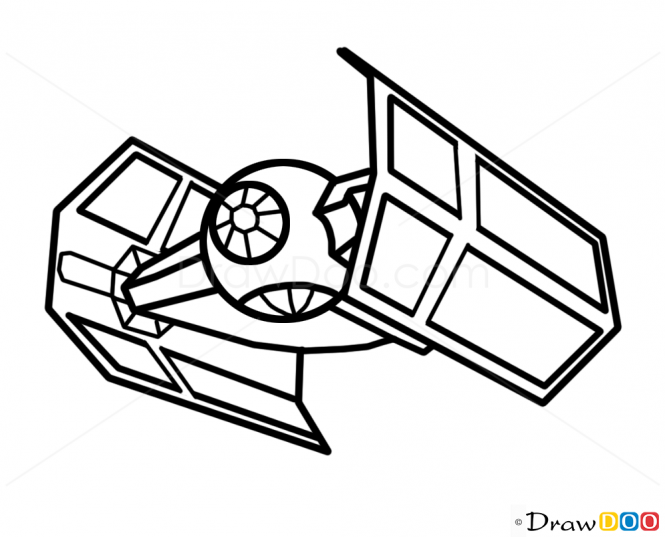Star wars ship silhouette simple clipart svg free library Star Wars Ships Drawings at PaintingValley.com | Explore ... svg free library