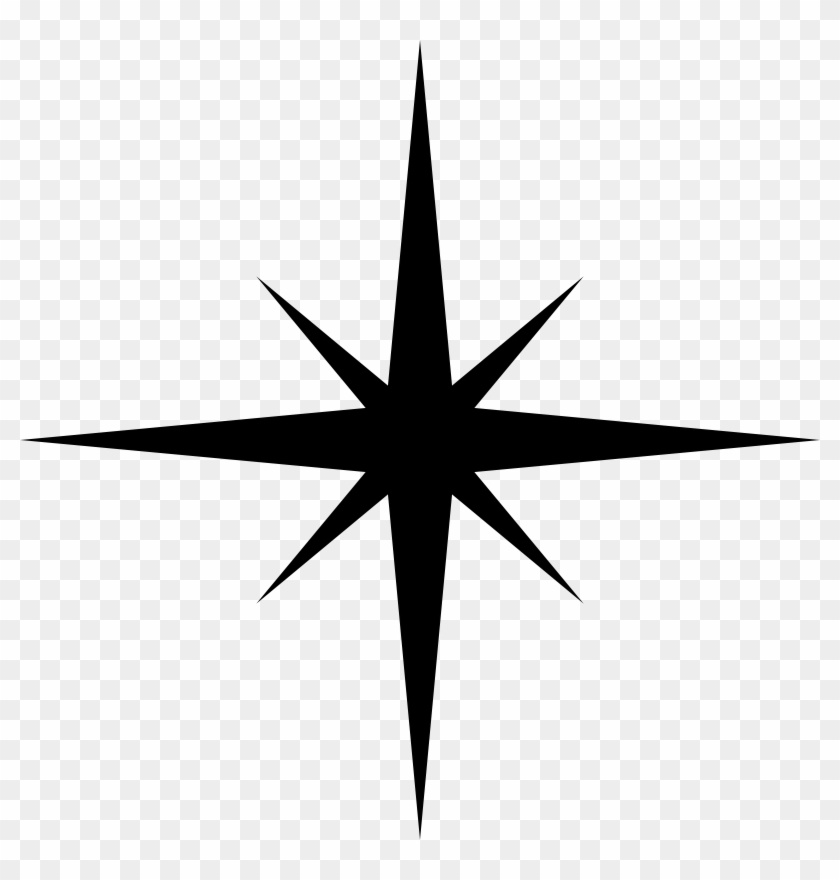 Star wars ship silhouette simple clipart image library download Simple Star Silhouette - Free Clipart Star Silhouette, HD ... image library download