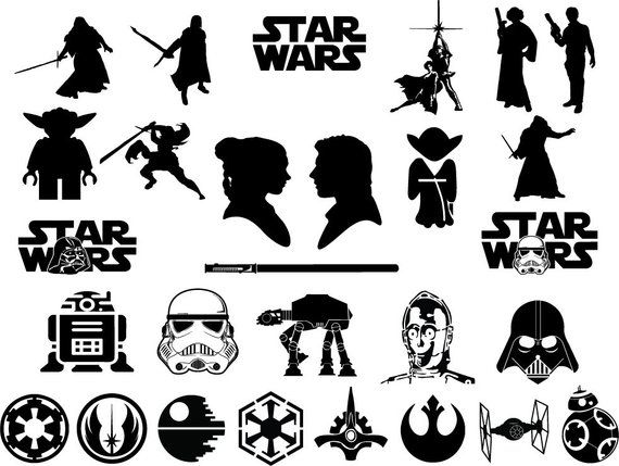 Star wars ship silhouette simple clipart clip art royalty free download Svg bundle, star wars svg, star wars bundle svg, darth vader ... clip art royalty free download