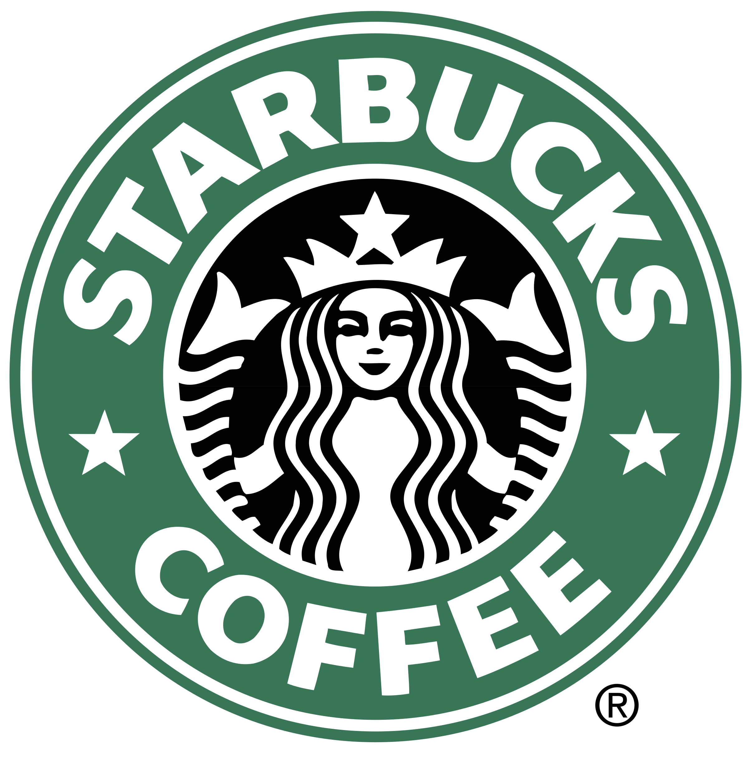 Star wars starbucks clipart png free library Starbucks Coffee Logo PNG Transparent & SVG Vector - Freebie Supply png free library