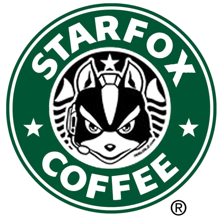 Star wars starbucks clipart banner black and white library STARFOX COFFEE STARBUCKS COFFEE PARODY MUG - FUNNY MUG - Google ... banner black and white library