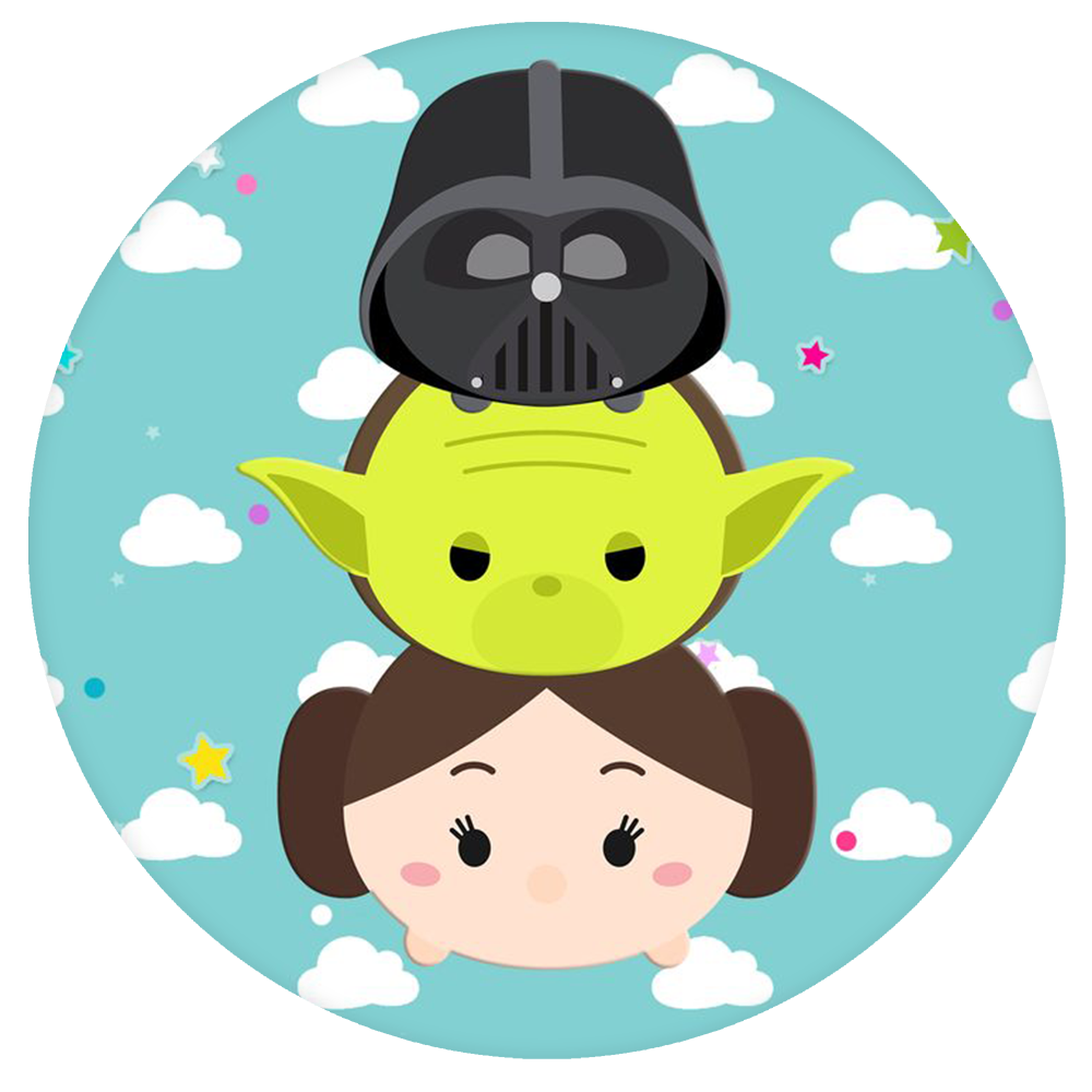 Star wars tsum tsum clipart vector freeuse library Star wars Pop-Grip: Tsum Tsum Star wars Pop-Grip – Popgrip vector freeuse library