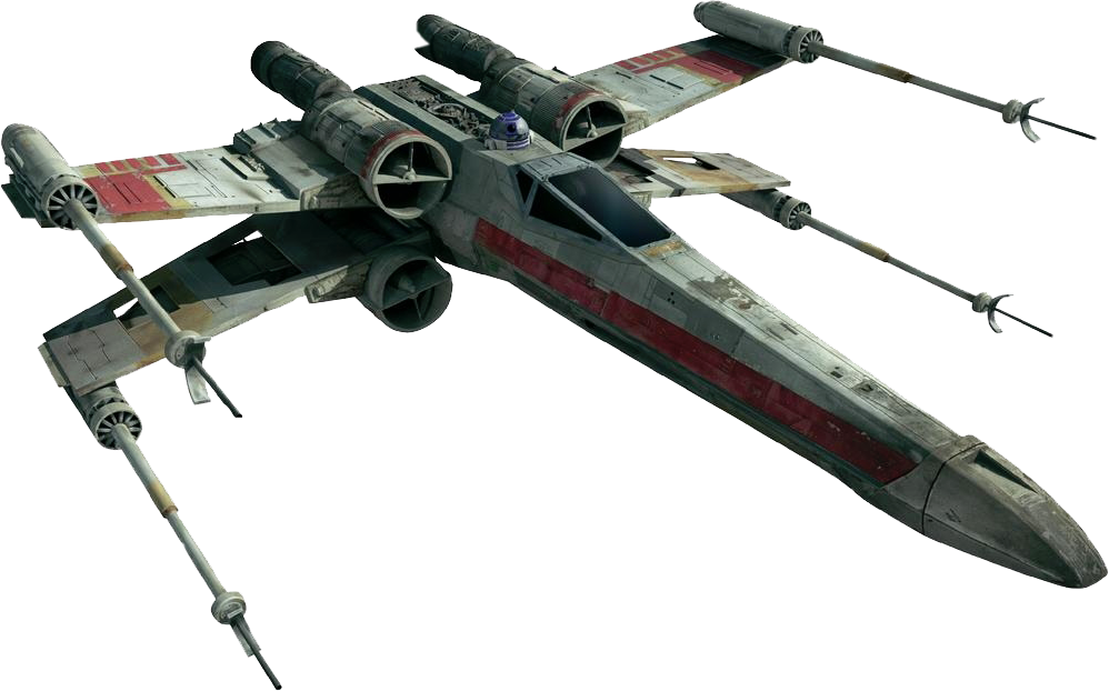 Star wars x wing clipart transparent X-wing fighter space starwars xwing jet fighterjet free... transparent