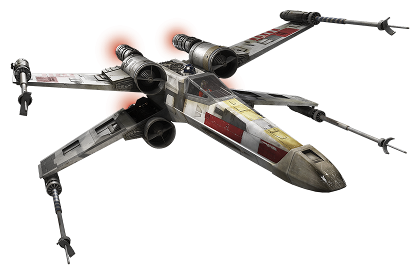 Star wars x wing clipart clip art transparent library Star Wars PNG Image - PurePNG | Free transparent CC0 PNG Image Library clip art transparent library